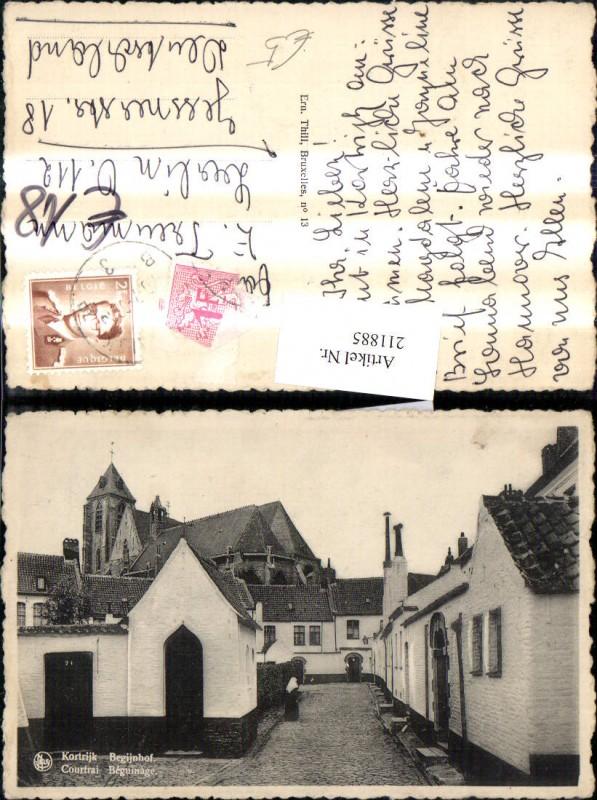 Kortrijk Courtrai Begijnhof Beguinage Kirche