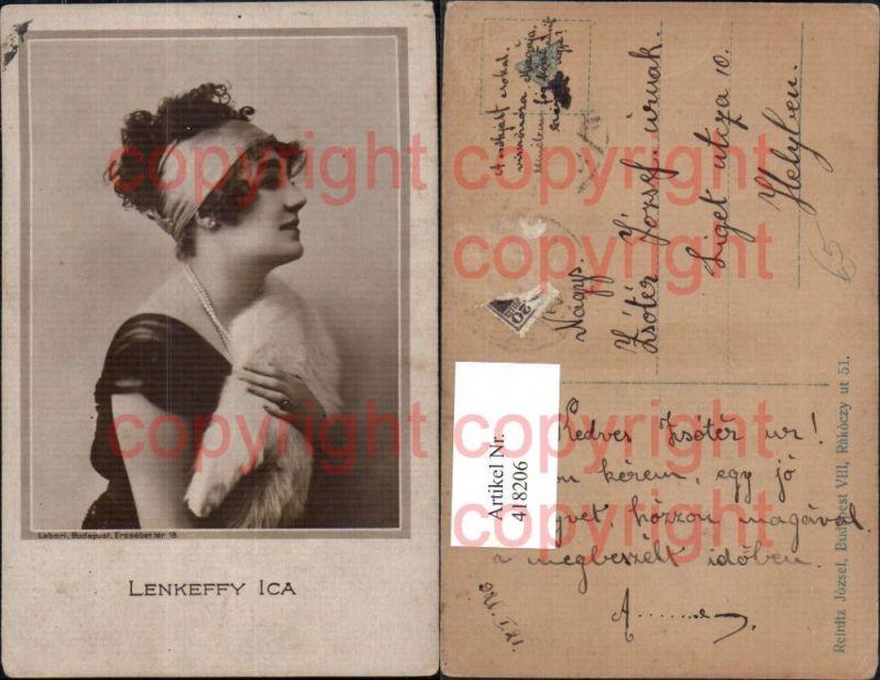 Lenkeffy Ica Schauspielerin
