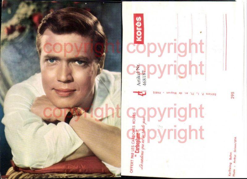 Schauspieler Karlheinz Böhm Portrait Uhr