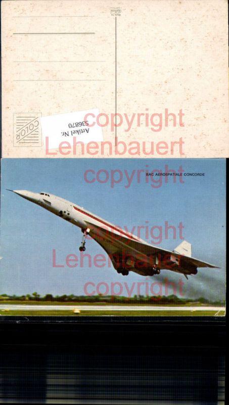 Aviaktik Flugzeug Concorde BAC Aerospatiale