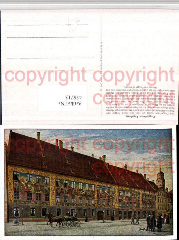 Künstler Augsburg künstler ak augsburg fuggerhaus kutsche nr 476713 oldthing
