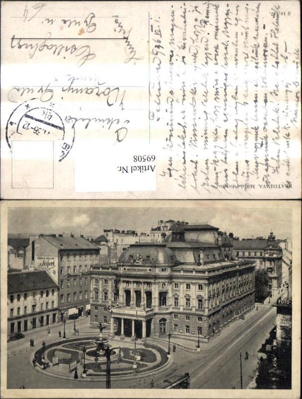 Bratislava Mestske divadlo Gebäude