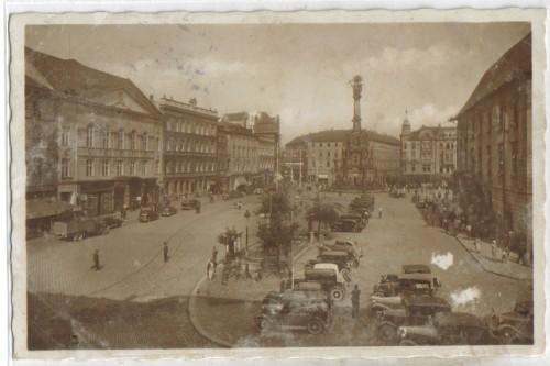 8758;Olmütz Olomouc Masarykplatz