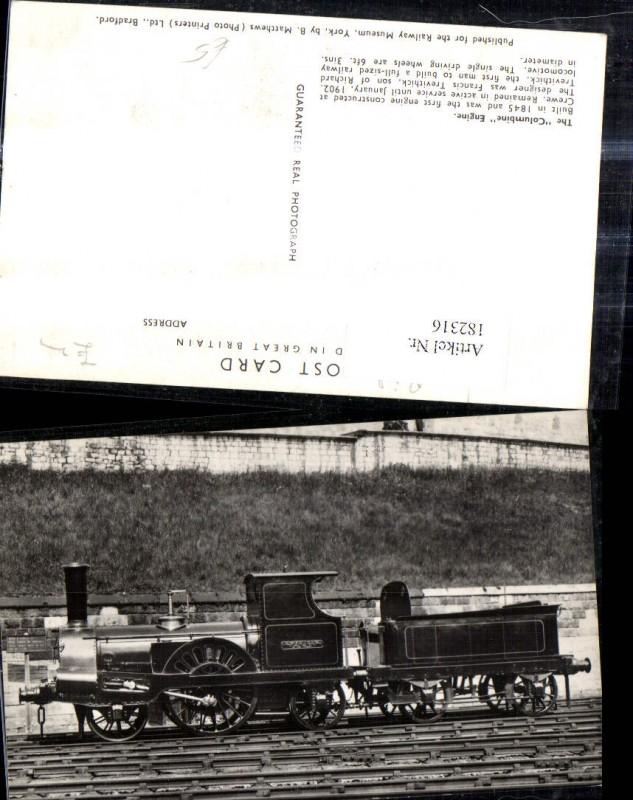 Eisenbahn Zug Lokomotiven Train Dampflok Columbine Engine