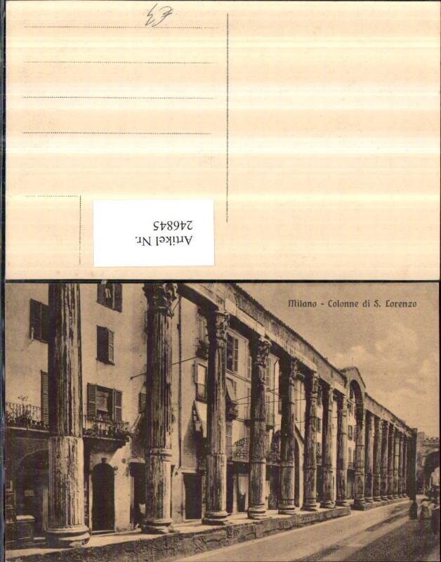 Lombardia Milano Mailand Colonne di S. Lorenzo