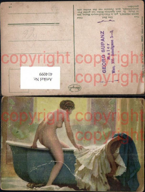 Frau in der badewanne nackt