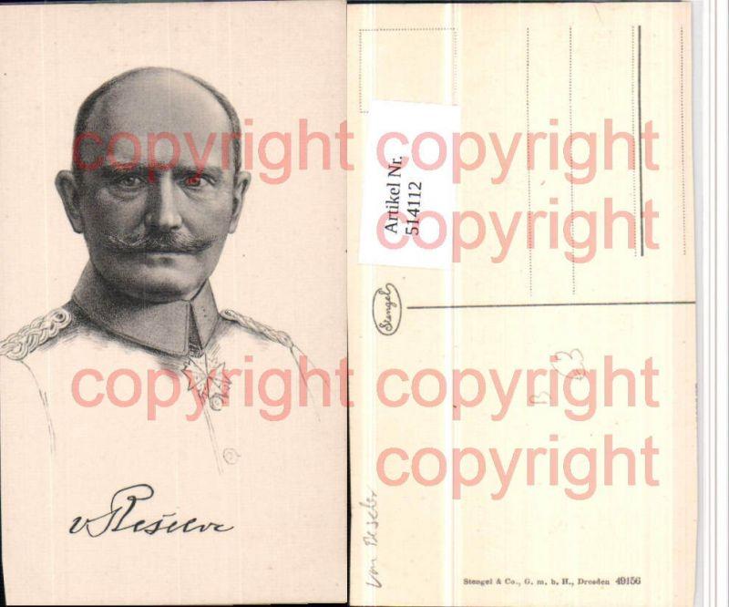 Künstler AK General Hans von Beseler Portrait pub Stengel 49156