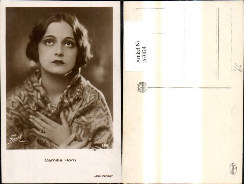 Camilla Horn Schauspielerin Iris 869