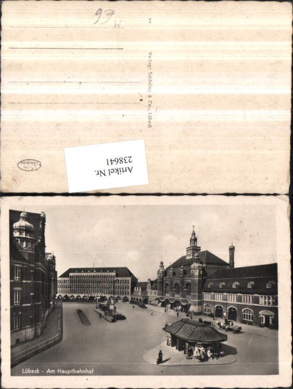 Lübeck Am Hauptbahnhof Bahnhof