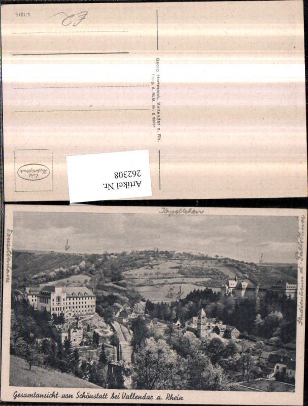 Schönstatt b. Vallendar am Rhein
