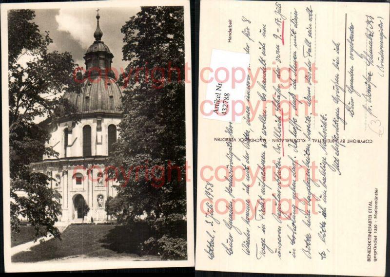 Ettal Benediktinerabtei Marienmünster Kirche