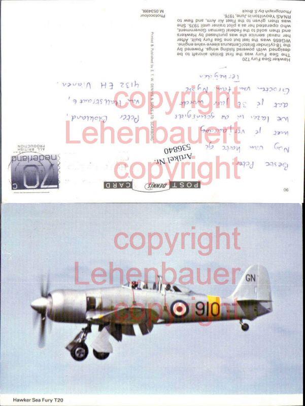 Aviaktik Flugzeug Hawker Sea Fury T20