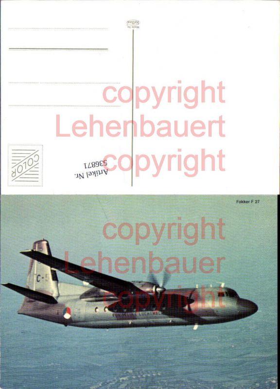 Aviaktik Flugzeug Fokker F 27