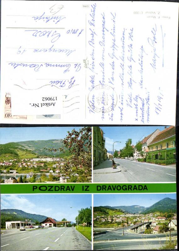 Slowenien Pozdrav iz Dravograda Mehrbild Ak