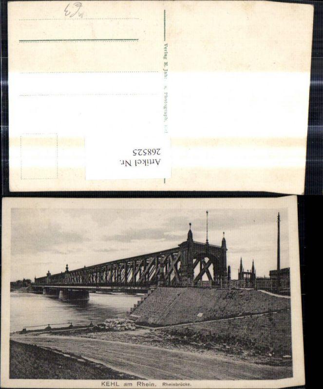 Kehl a. Rhein Rheinbrücke Brücke