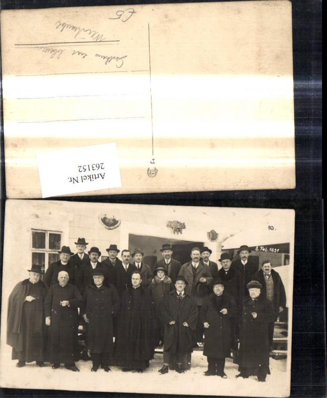 Forto Ak Gruppenbild v. Gasthaus zur blauen Traube Berufe