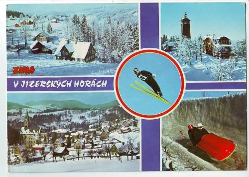 8619;Zima Jizerskych Horach Jizerske Hory