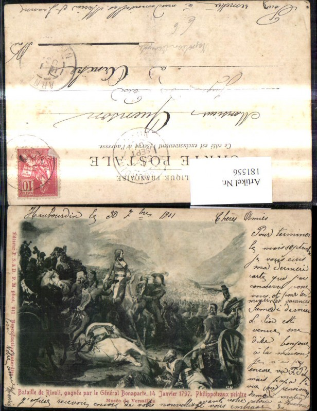 Künstler Ak Philippoteaux Bataille de Rivoli gagnee par le General Bonapa