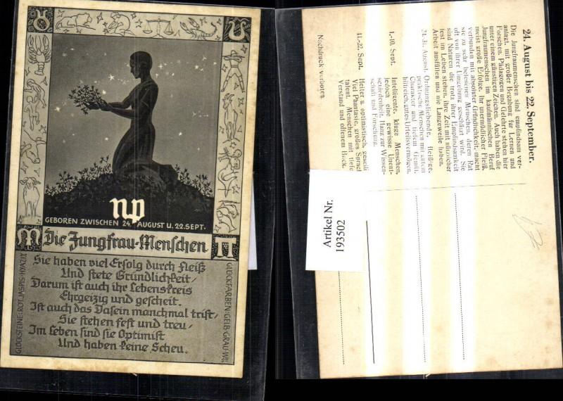 sternzeichen v 1955 die zwilling menschen 35419 nr 181624990 oldthing k nstlerkarten. Black Bedroom Furniture Sets. Home Design Ideas