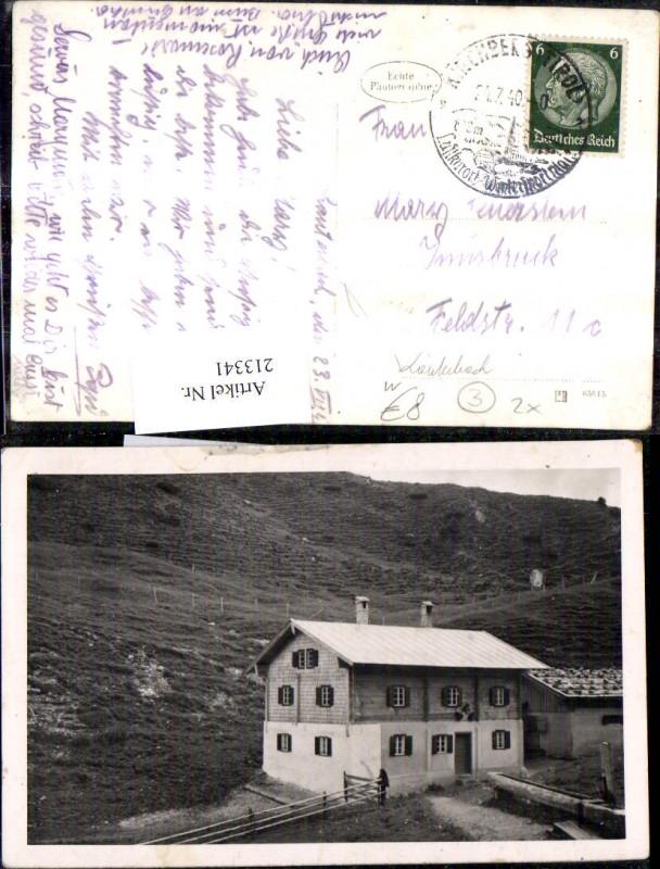 Berghütte Hütte b. Lautenbach