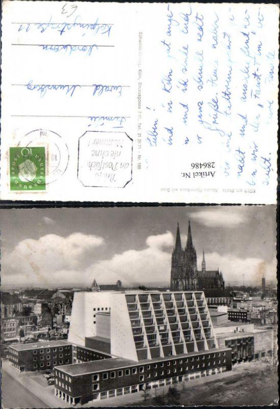 k ln opernhaus und dom 1963 nr 0106119 oldthing ansichtskarten deutschland plz 50 59. Black Bedroom Furniture Sets. Home Design Ideas