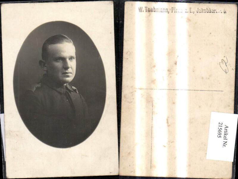 Foto Ak K.k. Soldat Uniform Portrait Passepartout