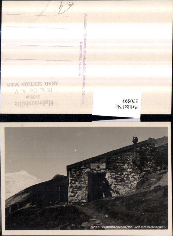 Hoffmannshütte Berghütte am Großglockner b. Heiligenblut 0
