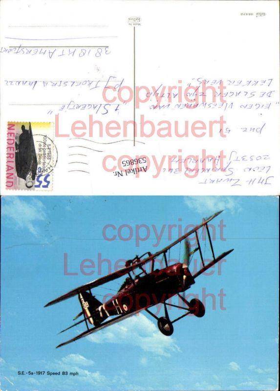 Aviaktik Flugzeug S.E. 5 a 1917