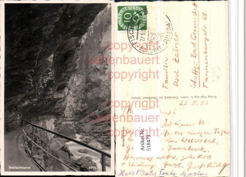 Breitachklamm Klamm b. Oberstdorf