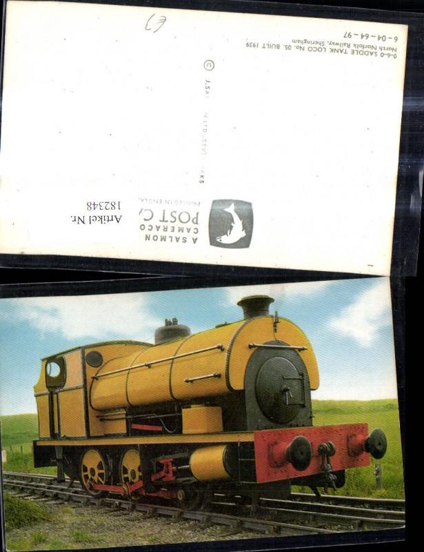 Eisenbahn Zug Lokomotiven Train Dampflok Saddle Tank Loco 05 North Norfol