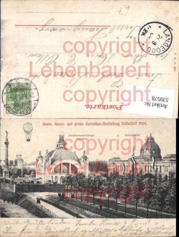 Gartenbau Düsseldorf intern kunst u gartenbau ausstellung düsseldorf 1904 ballon nr
