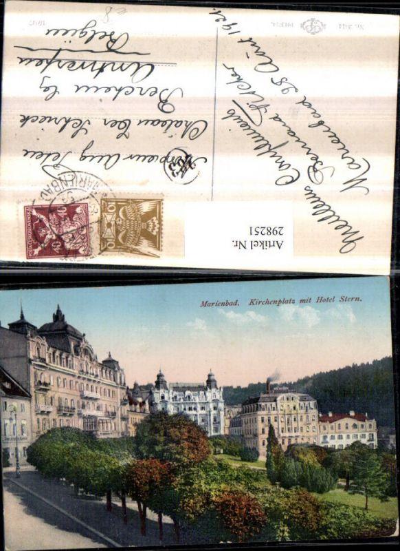 Marienbad Tschechien Hotel Stern