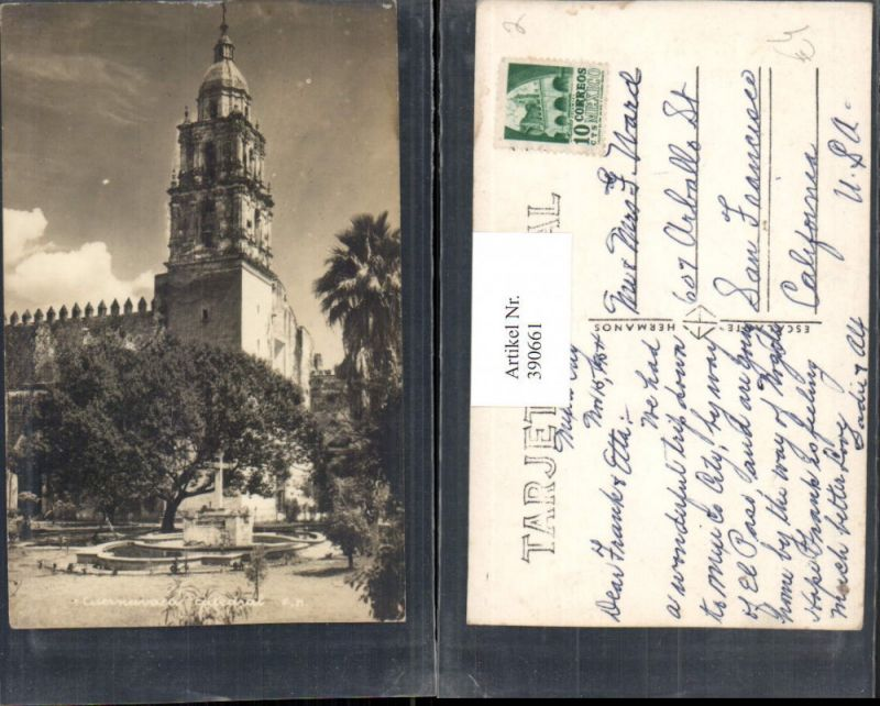 Mexico Cuernavaca Catedral Kirche