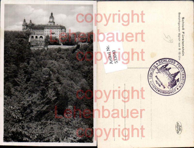 Poland Schloß Fürstenstein Schlesien Waldenburg Walbrzych Niederschlesien