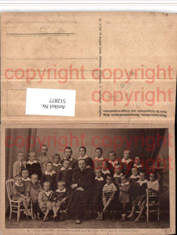 WW1 Heimenkirch im Allgäu Herz-Jesu-Heim Kriegerkinder Waisenkinder