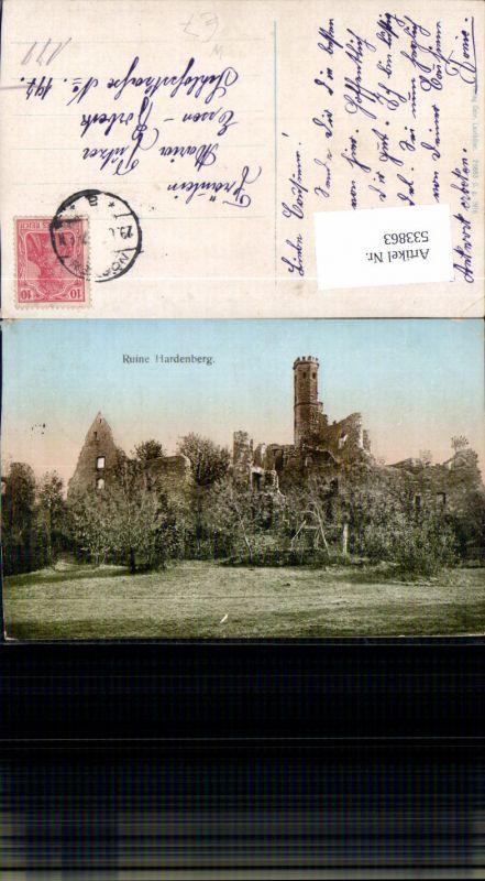 Ruine Hardenberg bei Nörten Solling Boveden Göttngen LK Northeim