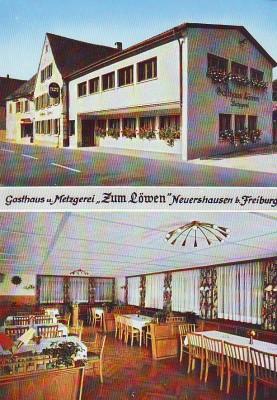 Gasthaus Metzgerei Löwe Neuershausen b. Freiburg