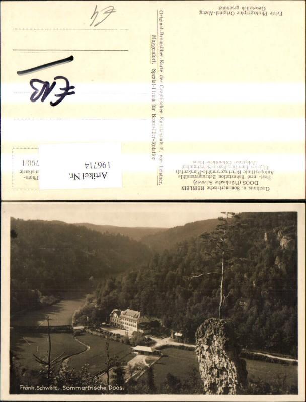 Heinlein Doos Fränkische Schweiz Behringersmühle Plankenfels