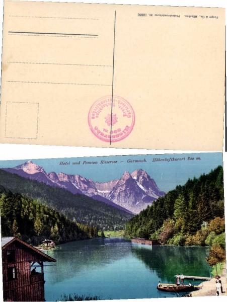 37104;Pension Rissersee Garmisch COLOR pub Purger & Co