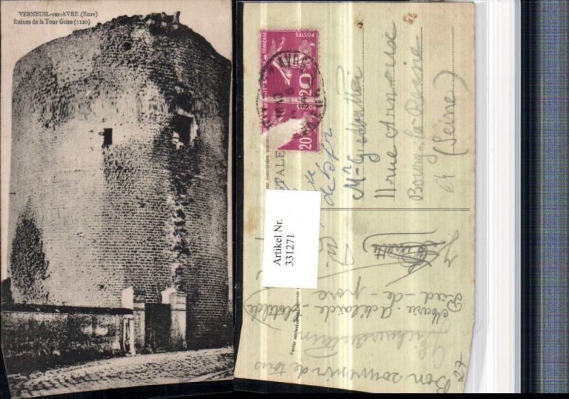 Haute-Normandie Eure Verneuil-sur-Avre Ruines de la Tour Grise Ruine