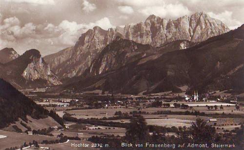 18964;Blick von Frauenberg auf Admont