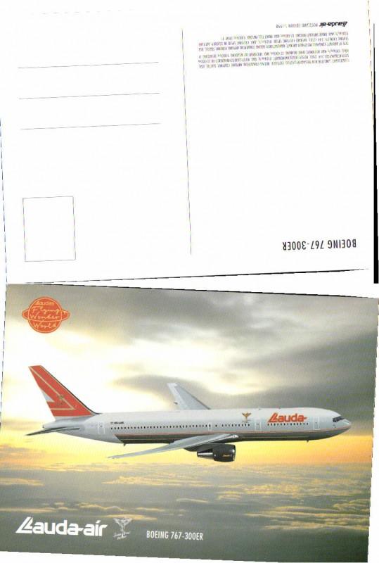 55899;Lauda Air Boeing 767-300er Flugzeug