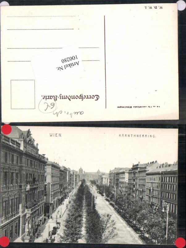 100280;Wien 1 Kärnthnerring Hotel Imperial