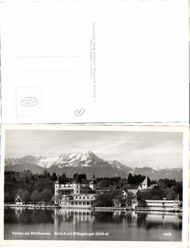 43216;Velden am Wörthersee Partie um 1938