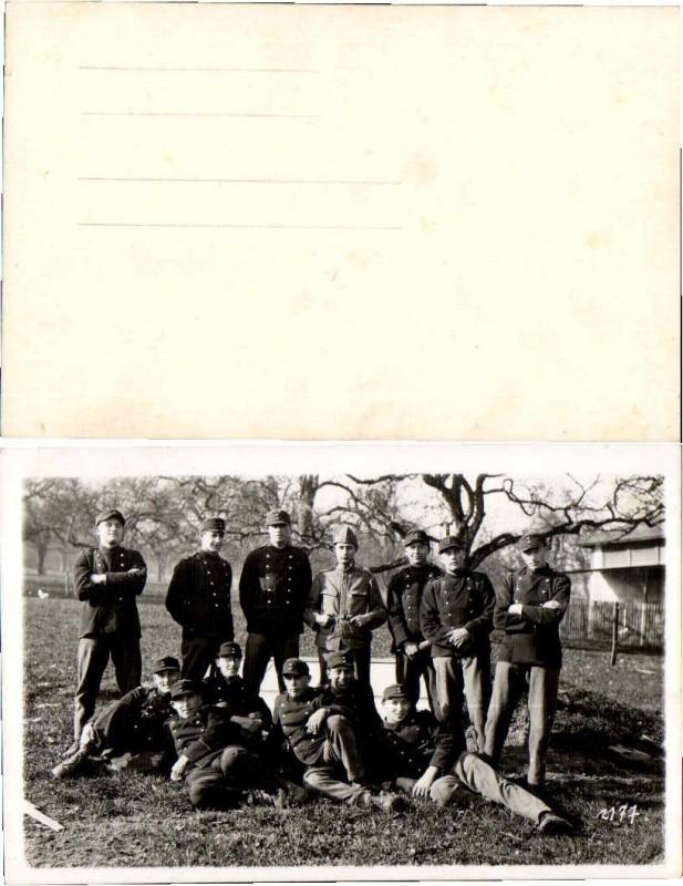 1930s Soldiers GERMAN REICHSWEHR CAPS UNIFORM Photo Pos