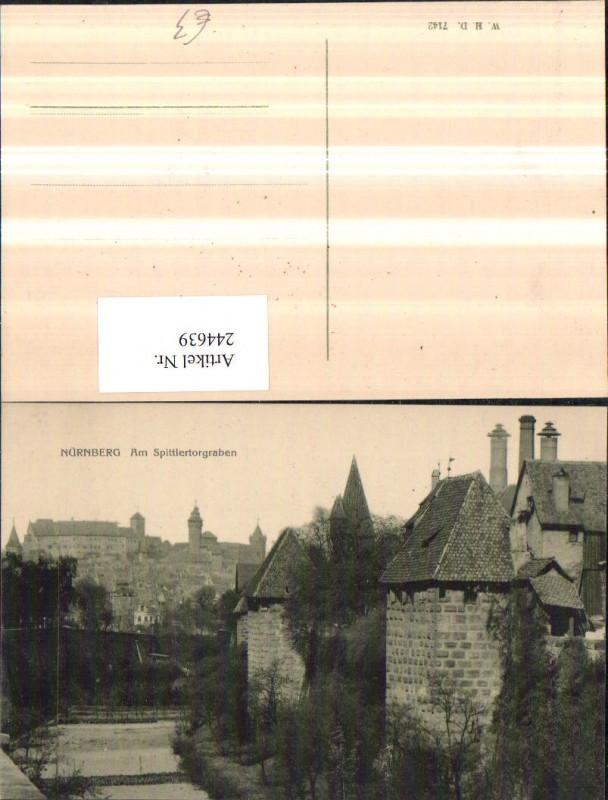 Nürnberg Am Spittlertorgraben Türme