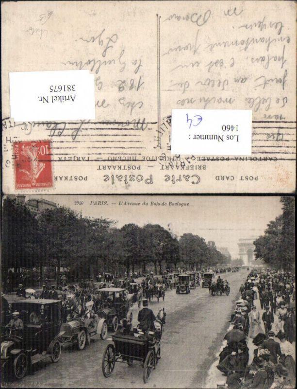 Auto Verkehr Kutsche Automobil Oldtimer Paris