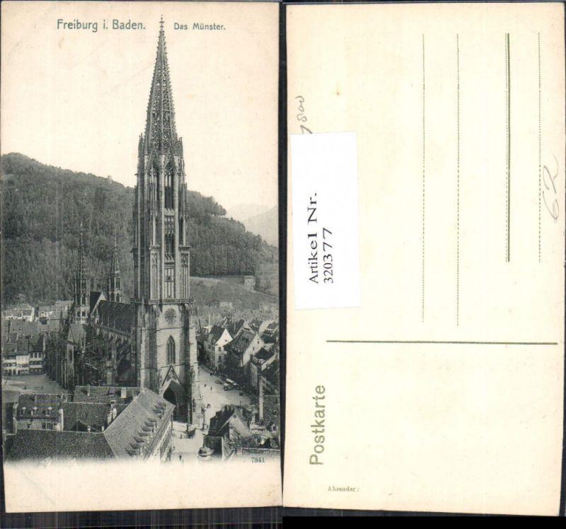 Freiburg i. Baden Das Münster Kirche