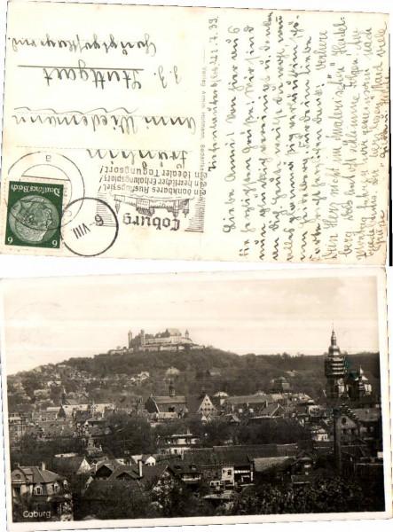 37144;Coburg Teilansicht 1938