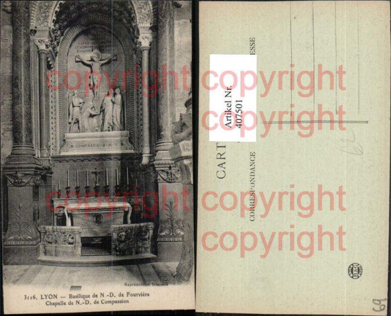 Rhone-Alpes Rhone Lyon Basilique de Notre-Dame Fourviere Chapelle Kapelle